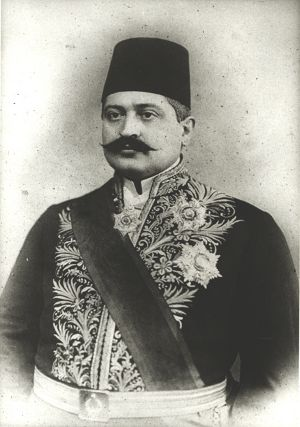 Dahiliye Nazırı Talat Paşa